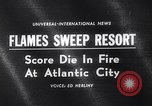 Image of Atlantic City fire Atlantic City New Jersey USA, 1963, second 5 stock footage video 65675039169