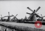 Image of windmills Kinderdijk Holland, 1963, second 4 stock footage video 65675039179