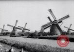 Image of windmills Kinderdijk Holland, 1963, second 5 stock footage video 65675039179