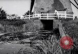 Image of windmills Kinderdijk Holland, 1963, second 8 stock footage video 65675039179