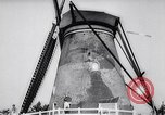Image of windmills Kinderdijk Holland, 1963, second 11 stock footage video 65675039179