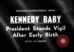Image of John Kennedy visits son Patrick Bouvier Kennedy Otis Air Force Base Massachusetts USA, 1963, second 3 stock footage video 65675039182
