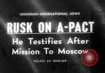 Image of Dean Rusk United States USA, 1963, second 1 stock footage video 65675039185