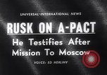 Image of Dean Rusk United States USA, 1963, second 2 stock footage video 65675039185