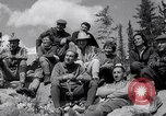Image of Mountain Climbing in the 1960s Banff Alberta Canada, 1963, second 10 stock footage video 65675039202