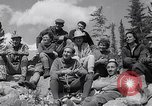 Image of Mountain Climbing in the 1960s Banff Alberta Canada, 1963, second 11 stock footage video 65675039202