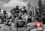 Image of Mountain Climbing in the 1960s Banff Alberta Canada, 1963, second 12 stock footage video 65675039202