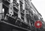 Image of Running of bulls Pamplona Spain, 1963, second 11 stock footage video 65675039203