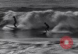 Image of Surf-boarding Basque Coast France, 1963, second 9 stock footage video 65675039206