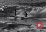 Image of Surf-boarding Basque Coast France, 1963, second 10 stock footage video 65675039206