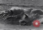 Image of Surf-boarding Basque Coast France, 1963, second 12 stock footage video 65675039206