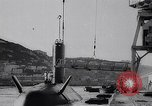 Image of Submarine Dreadnaught Gibraltar United Kingdom, 1963, second 10 stock footage video 65675039208