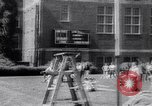 Image of John Pennel pole vaults after setting record Coral Gables Florida USA, 1963, second 9 stock footage video 65675039211