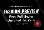 Image of fashion models Paris France, 1963, second 1 stock footage video 65675039216