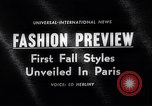 Image of fashion models Paris France, 1963, second 2 stock footage video 65675039216