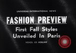 Image of fashion models Paris France, 1963, second 3 stock footage video 65675039216