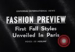 Image of fashion models Paris France, 1963, second 5 stock footage video 65675039216