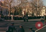 Image of flag-draped casket Washington DC USA, 1963, second 2 stock footage video 65675039219
