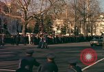 Image of flag-draped casket Washington DC USA, 1963, second 4 stock footage video 65675039219