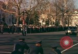Image of flag-draped casket Washington DC USA, 1963, second 5 stock footage video 65675039219