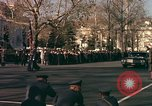 Image of flag-draped casket Washington DC USA, 1963, second 6 stock footage video 65675039219