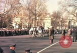 Image of flag-draped casket Washington DC USA, 1963, second 7 stock footage video 65675039219