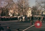 Image of flag-draped casket Washington DC USA, 1963, second 8 stock footage video 65675039219