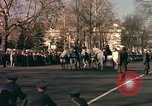 Image of flag-draped casket Washington DC USA, 1963, second 11 stock footage video 65675039219