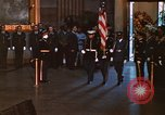 Image of flag-draped casket of John Kennedy Washington DC USA, 1963, second 5 stock footage video 65675039258