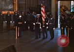 Image of flag-draped casket of John Kennedy Washington DC USA, 1963, second 6 stock footage video 65675039258