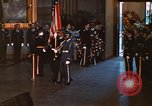 Image of flag-draped casket of John Kennedy Washington DC USA, 1963, second 9 stock footage video 65675039258