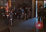 Image of flag-draped casket of John Kennedy Washington DC USA, 1963, second 11 stock footage video 65675039258