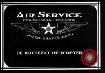Image of De Bothezat Helicopter Dayton Ohio USA, 1921, second 7 stock footage video 65675039283