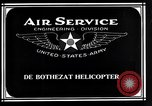 Image of De Bothezat Helicopter Dayton Ohio USA, 1921, second 8 stock footage video 65675039283