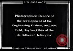 Image of De Bothezat Helicopter Dayton Ohio USA, 1921, second 12 stock footage video 65675039283