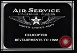 Image of Leinweber Brothers helicopter Chicago Illinois USA, 1922, second 4 stock footage video 65675039285