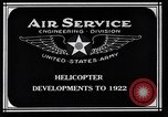 Image of Leinweber Brothers helicopter Chicago Illinois USA, 1922, second 7 stock footage video 65675039285