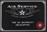 Image of De Bothezat helicopter Dayton Ohio USA, 1922, second 6 stock footage video 65675039289