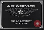 Image of De Bothezat helicopter Dayton Ohio USA, 1922, second 7 stock footage video 65675039289