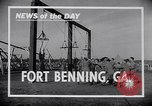 Image of United States Army parachutists Fort Benning Georgia USA, 1941, second 6 stock footage video 65675039294