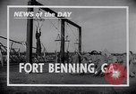 Image of United States Army parachutists Fort Benning Georgia USA, 1941, second 7 stock footage video 65675039294