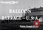 Image of Barrage balloons Fort Lewis Washington USA, 1941, second 3 stock footage video 65675039309