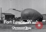 Image of Barrage balloons Fort Lewis Washington USA, 1941, second 7 stock footage video 65675039309