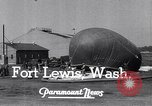 Image of Barrage balloons Fort Lewis Washington USA, 1941, second 8 stock footage video 65675039309