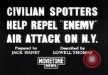 Image of civilian spotters New York United States USA, 1941, second 1 stock footage video 65675039313