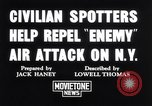 Image of civilian spotters New York United States USA, 1941, second 2 stock footage video 65675039313