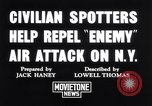 Image of civilian spotters New York United States USA, 1941, second 4 stock footage video 65675039313