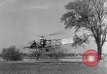 Image of Igor Sikorsky VS-300 world record Stratford Connecticut USA, 1941, second 8 stock footage video 65675039323
