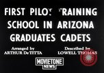 Image of Army Air Cadets Arizona United States USA, 1942, second 1 stock footage video 65675039329