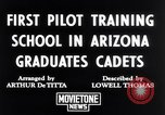 Image of Army Air Cadets Arizona United States USA, 1942, second 2 stock footage video 65675039329